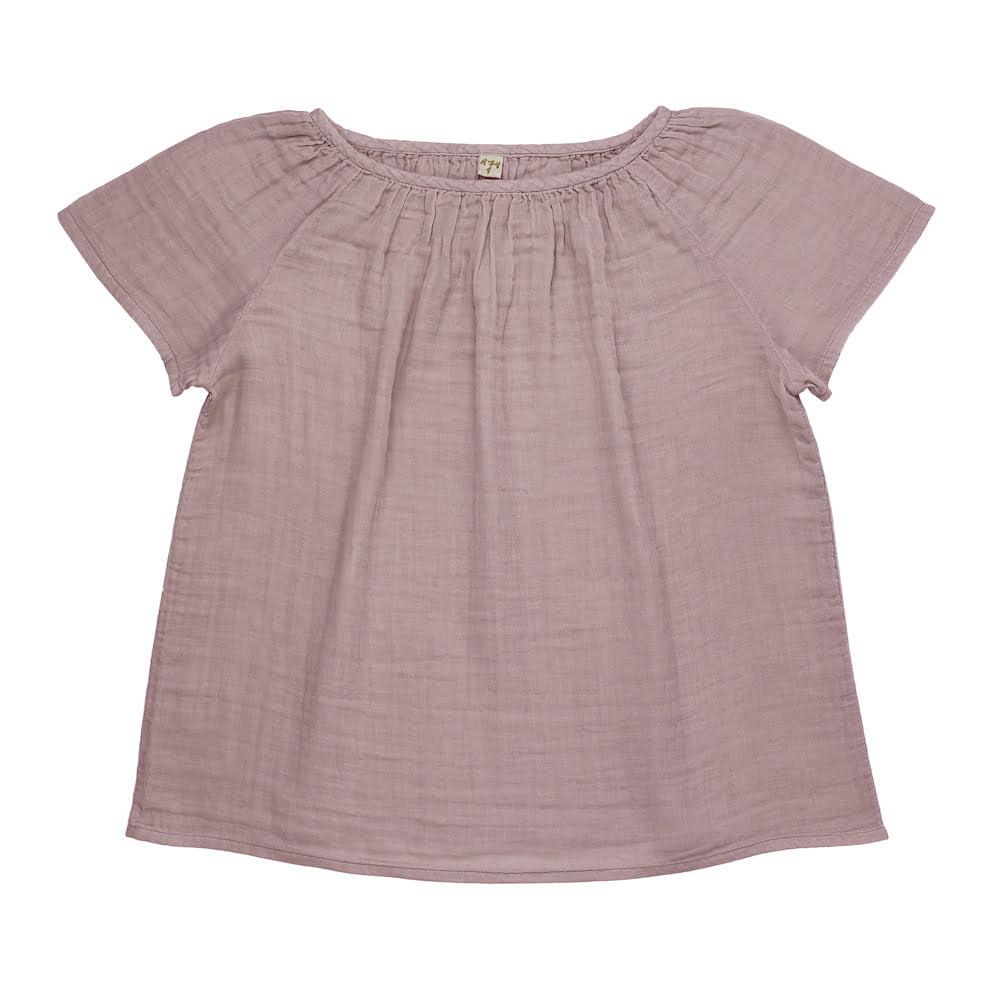 NUMERO 74 : Clara Top mum, dusty pink
