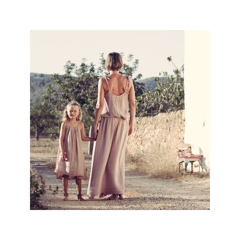 NUMERO 74 : Mia long dress for women, gold