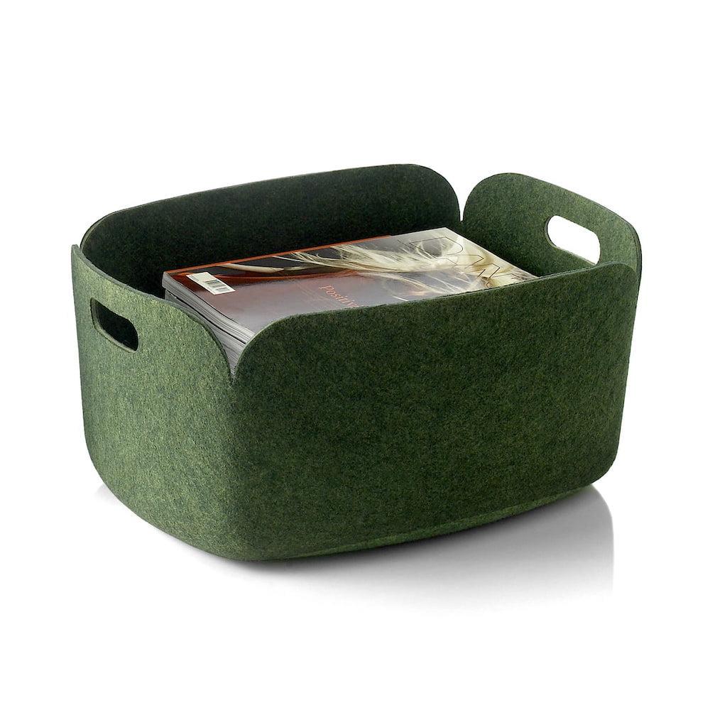 MUUTO : Restore Korb, Dark Green