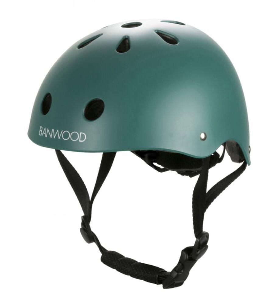 Banwood: Classic Helmet - Dark Green