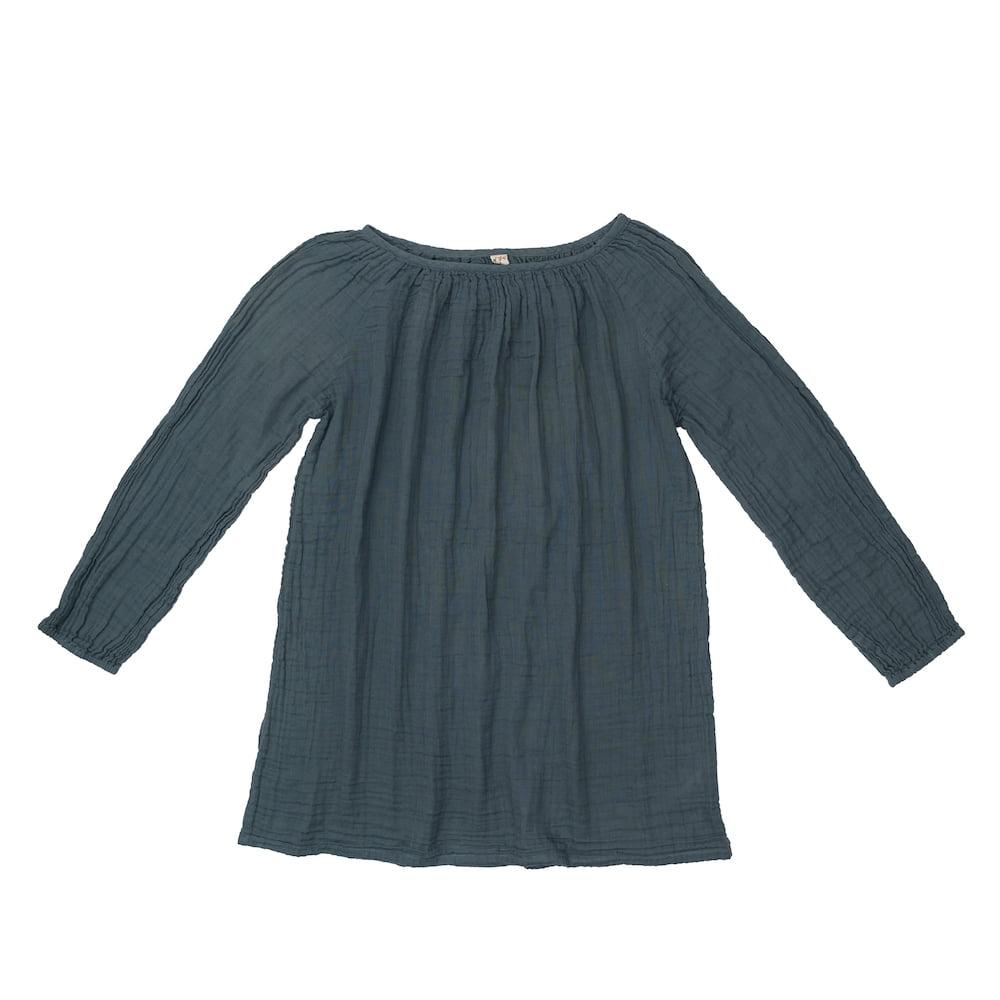 NUMERO 74 : Nina short dress for women, ice blue