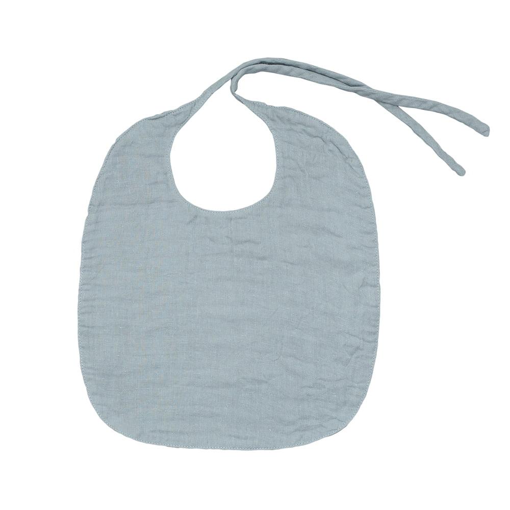 NUMERO74 : Lätzli, klein, silver grey