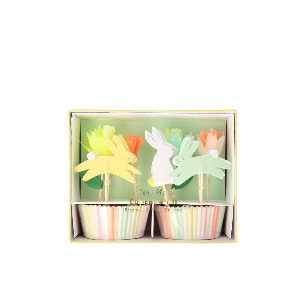 MERI MERI : Cupcake Kit Floral Bunny