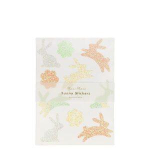 MERI MERI : Stickers Bunny mit Glitzer