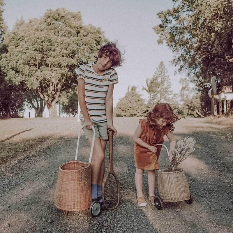OLLI ELLA : Luggy Basket - Medium - Natural