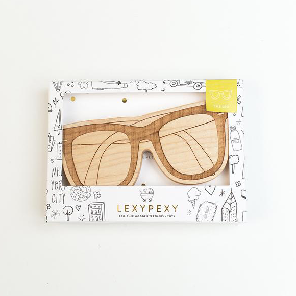 LEXY PEXY : Holzer Beissring, Sonnenbrille