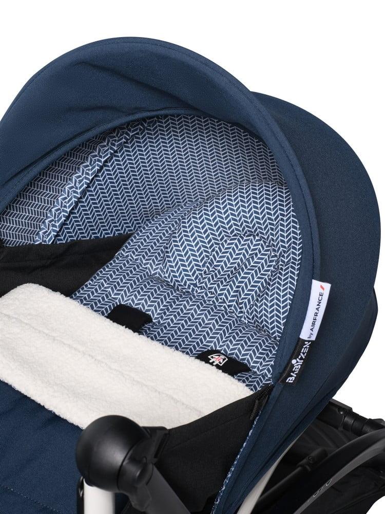 BABYZEN : YOYO 2 0+, Gestell weiss, Textil Air France