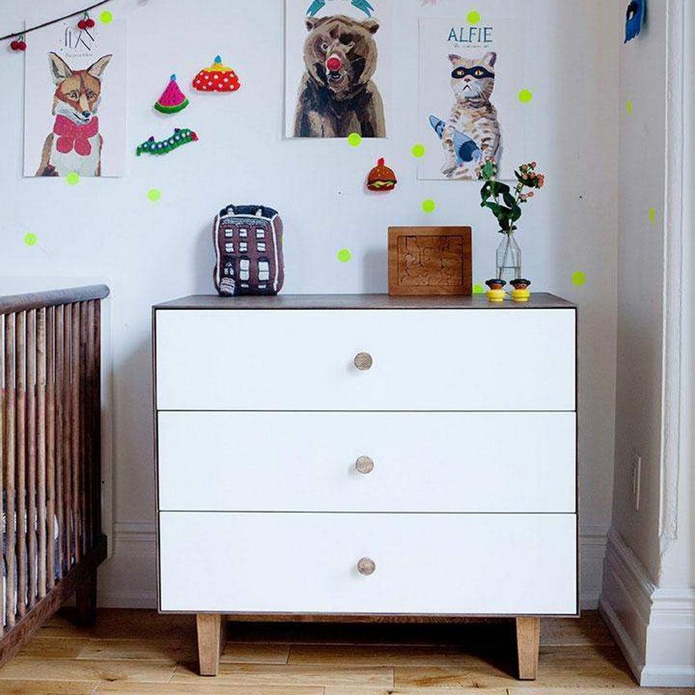 OEUF NYC : 3 Draw Dresser - Sparrow
