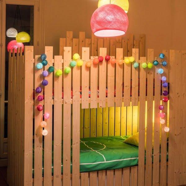 LA CASE DE COUSIN PAUL : Lichterkette, LED, Jimi