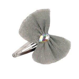 NUMERO74 : Haarspange Luna, silver grey