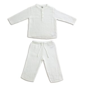 NUMERO 74 : Dan suit baby & kid, white