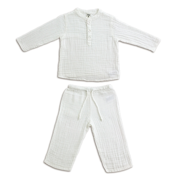 NUMERO 74 : Dan suit baby & kid, white