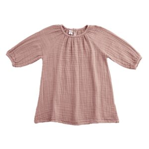 NUMERO 74 : Nina dress kid, dusty pink