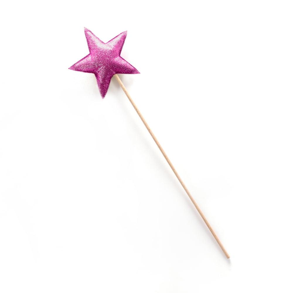 LIGNE MOUCHE : Zauberstab, glitter/pink