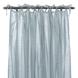 NUMERO 74 : Vorhang , gekräuselt, sweet blue