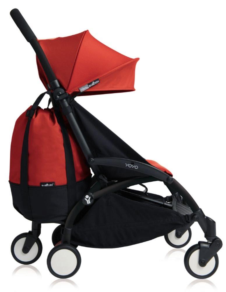 BABYZEN : YoYo+ bag, Rouge