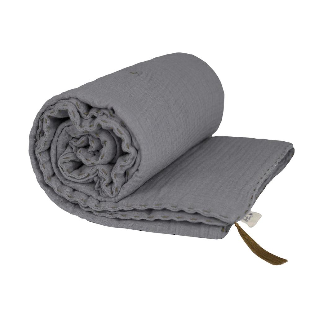 NUMERO74 : Winter Decke, stone grey