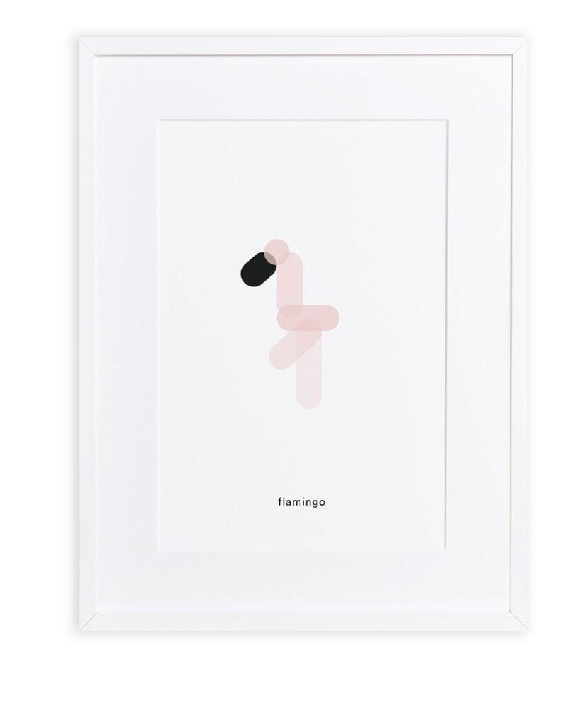 Maison Deux :  Minimal Print Flamingo