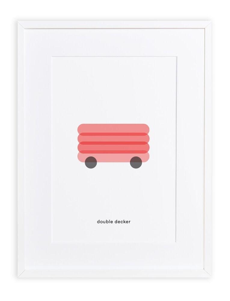 Maison Deux : Minimal Print Double decker